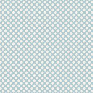 Telas Magomar Patchwork Tilda - colección Classic - motivo tela azul claro puntos pintados - color azul claro y blanco - Tilda - Ref. MP130035 4,40EU