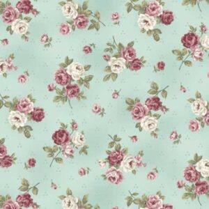 Telas Patchwork Magomar Patch Colección Kelly-Roses de Stoffabrics Ref.MP4501-484
