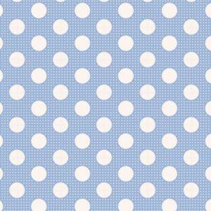 Telas Patchwork Tilda Magomar Patch colección Medium Dots Blue - Ref. MP130002