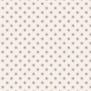 Telas Magomar Patch Tilda - Classic Basics - motivo estrellas grises en fondo crudo - Tilda Fabrics 100% Algodón Ref. MP130039