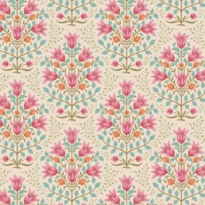 Telas Magomar Patchwork Tilda - colección Windy Days - motivo Breeze Pink- Tilda Fabrics 100% Algodón 100352