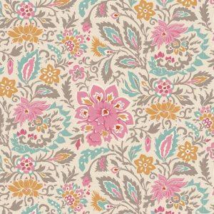 Telas Magomar Patchwork tilda - colección Windy Days - motivo Skyler Grey - Tilda Fabrics 100% Algodón 100356